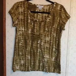 Liz Claiborne Short Sleeve Shirt